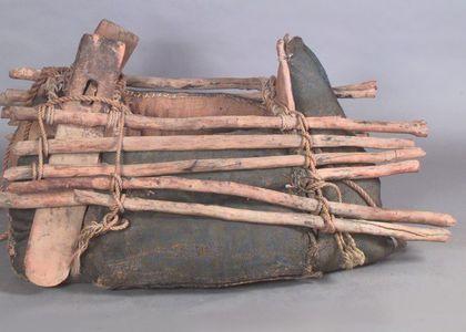 Camel pack saddle used by Afghan camel drivers in South Australia