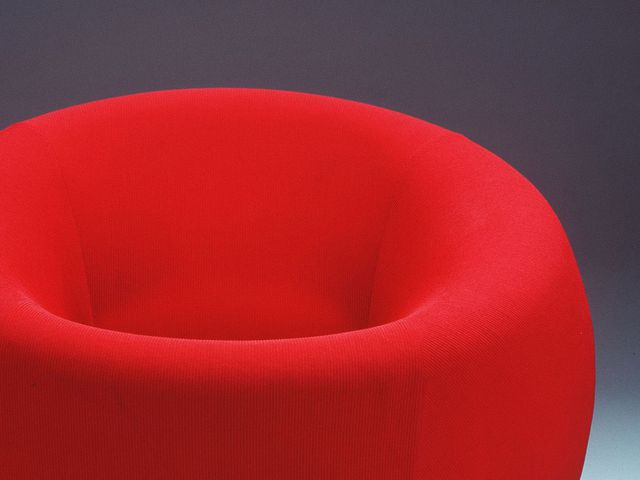 Armchair,'Up 1', polyurethane foam / nylon and wool jersey / wood / hessian / plastic, designed by Gaetano Pesce, Italy, 1969 made by C & B Italia, Italy, about 1969
