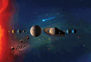 Artist's impression of space