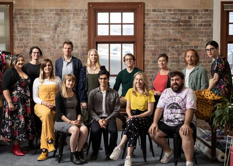 Powerhouse NSW Creative Industries Residents. Image: Daniel Boud