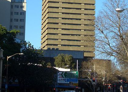 tThe UTS Tower on Broadway