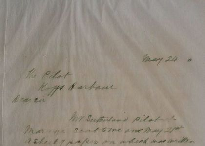 Letter by H C Russell, 24 May 1900