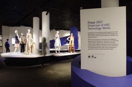 Shape 2017 Exhibition view of entrance signage