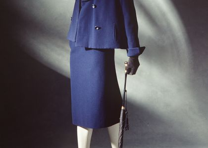 Women's suit by Dior