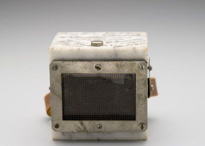 Microphone used at the opening of the Harbour Bridge in 1932