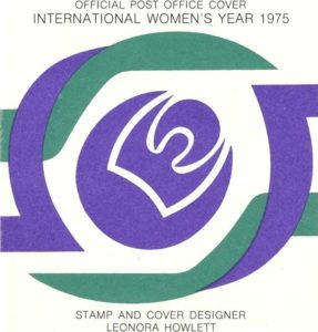 Australia Post Cover, International Women's Day 1975. Photo: Marian Sawer