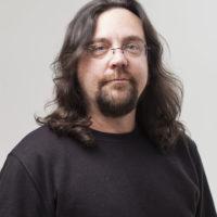 Portrait, Damian McDonald, Curator.