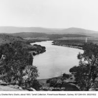 The Snowy River at Jindabyne: once a mighty river