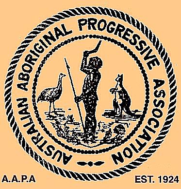 AAPA logo, 1924. Image supplied by John Maynard.