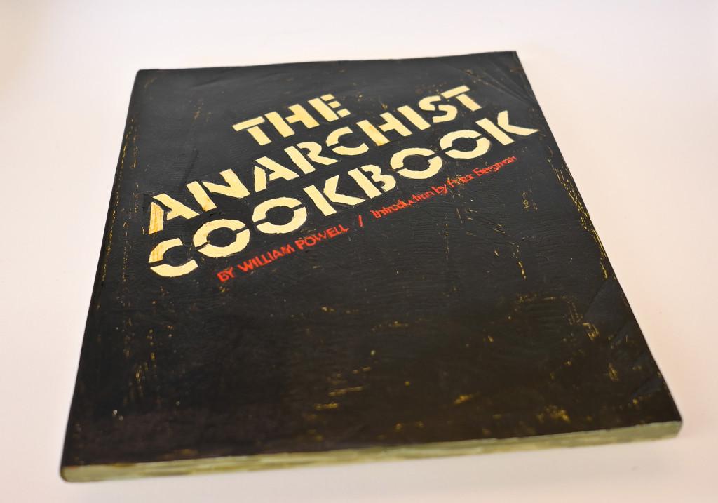 The Anarchist Cookbook, photographed by Flickr user Conrad Bakker