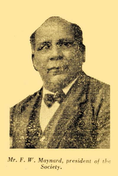 Fred Maynard, President of the Australian Aboriginal Progressive Association (AAPA). Image supplied by John Maynard.