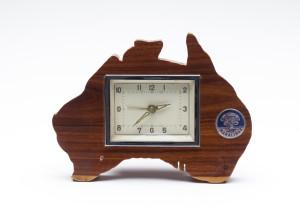 Maralinga souvenir clock, maker unknown, Australia, 1956-1980, MAAS collection, 85/1043