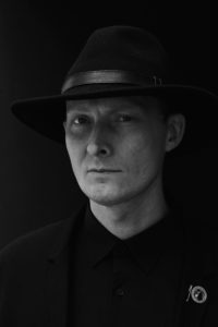 Portrait photo of Lawrence English. Photo by Traianos Pakioufakis.