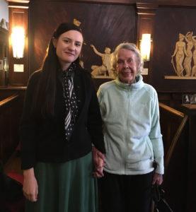 Vanessa Berry and Joyce Thomson
