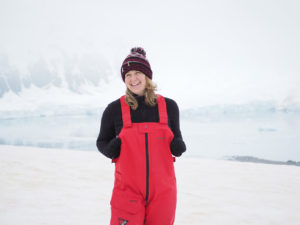 First steps on the Antarctic continent.