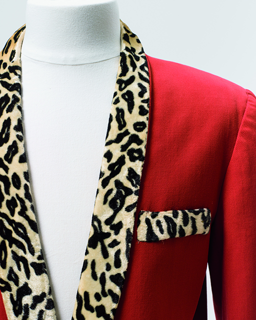 Johnny O'Keefe's red suit
