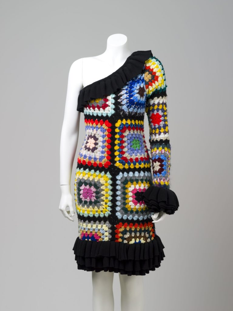 Romance Was Born crochet dress
