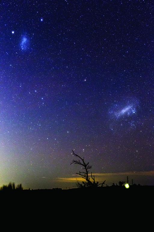 Photo of Magellanic Clouds