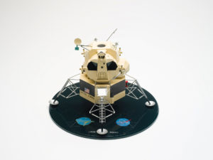 small model of spacecraft
