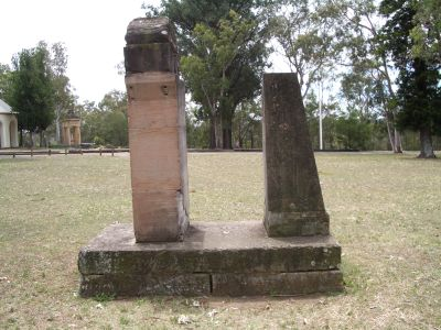 Piers in Parramatta Park, photo by Nick Lomb