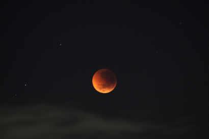 Mid Shot of Blood Moon
