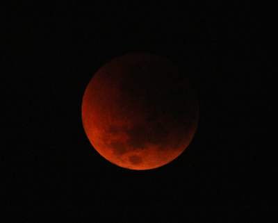 Detail of Blood Moon
