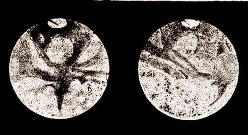 Drawings of Mars by Walter Gale on 6 August 1892