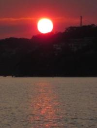 A sunset. Photo Nick Lomb