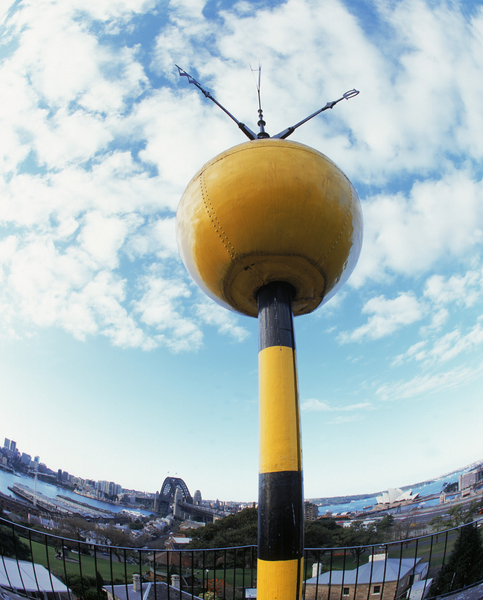 Sydney Observatory's Time Ball has been telling the time since 1858.