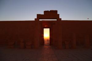 Hatshepsut at Deir el Bahari © Brenan Dew.
