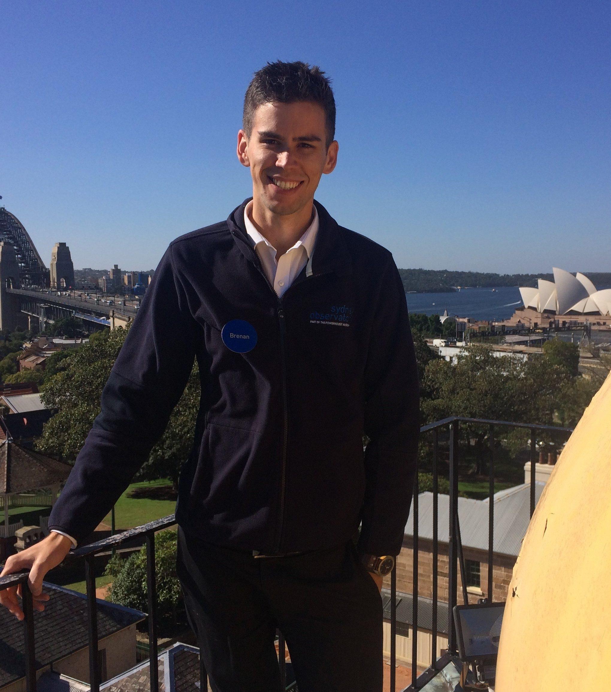 Brenan Dew, Sydney Observatory Guide