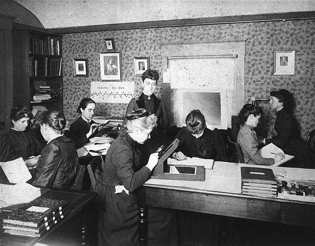 Astronomer Edward Charles Pickering's Harvard computers