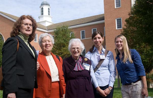 Anne Kinney, Vera Rubin, Nancy Grace Roman, Kerri Cahoy, Randi Ludwig.