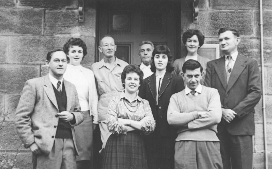 Sydney Observatory Staff 1950s