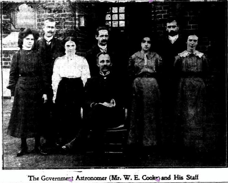 Perth Observatory Staff 1910