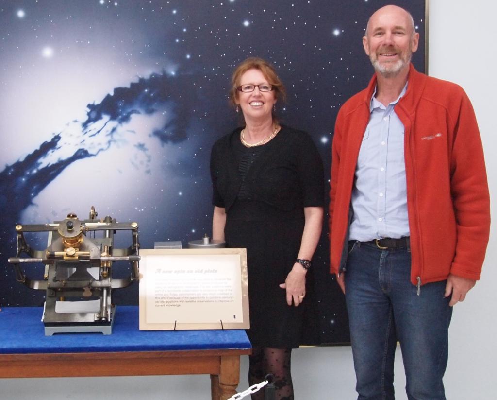 Perth Observatory measuring machine