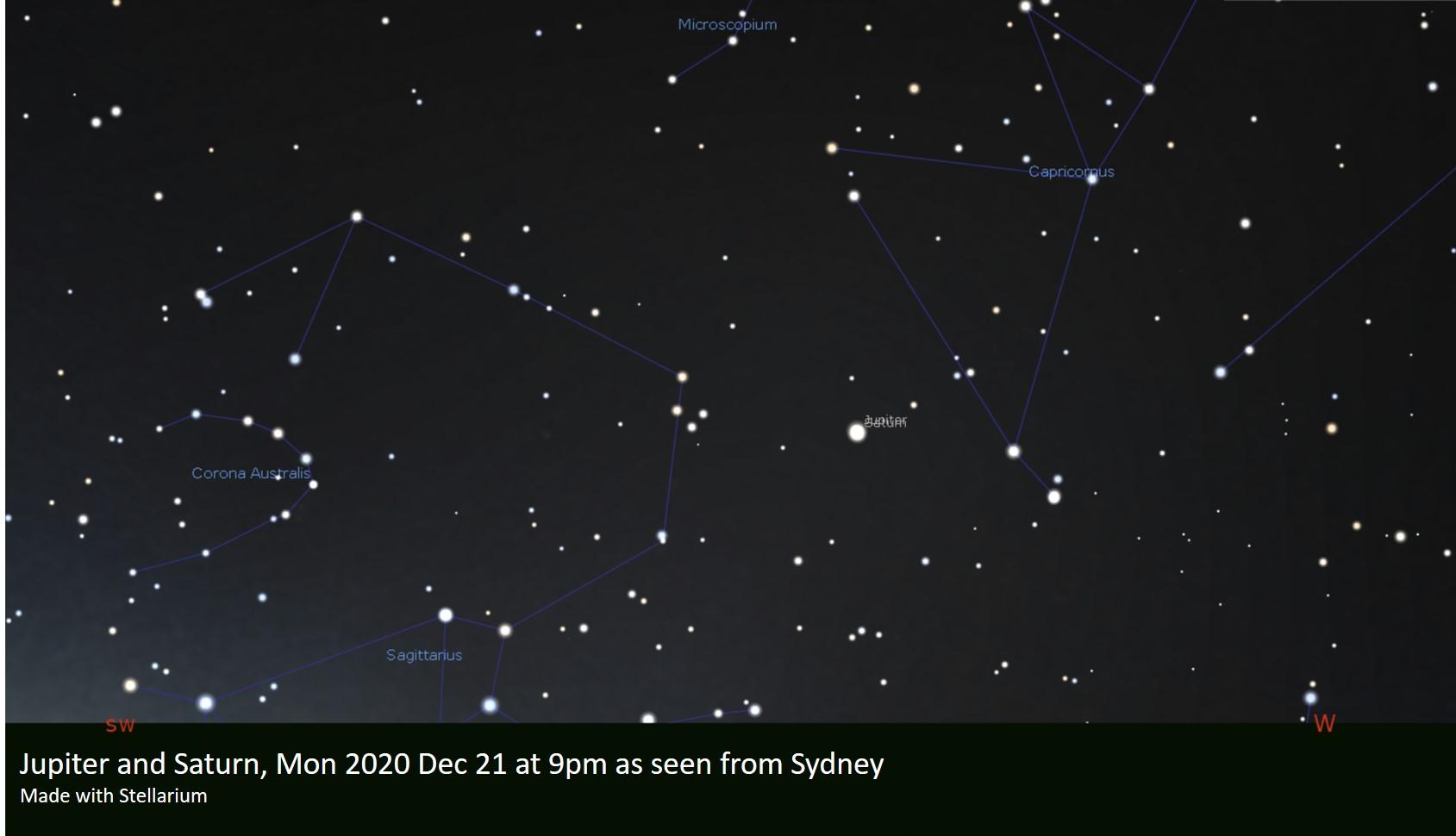 The 2020 December Jupiter-Saturn conjunction & appulse