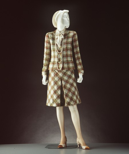 Womens suit designed by Chanel