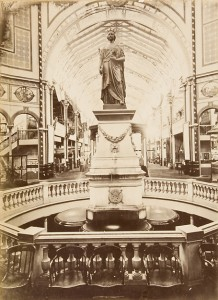 Statue of Queen Victoria by Marshall Wood in the Garden Palace, 1879-1880