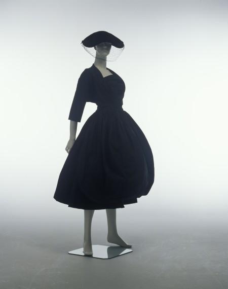 Dress designed by Balenciaga