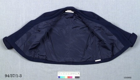 Dior jacket inside out