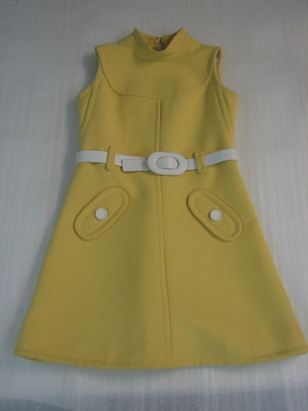 Yellow Courreges dress