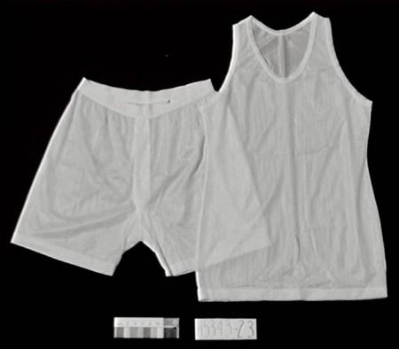 Men's underwear from the 1950s made of Terylene