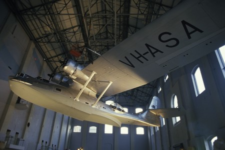 Catalina Flying Boat 'Frigate Bird II' on display