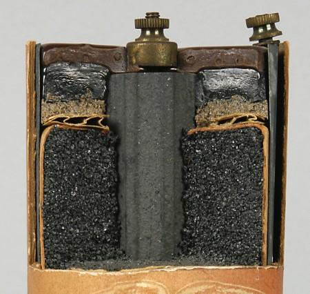 1920s Columbia Ignitor battery interior
