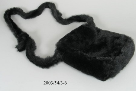 Furry bag by William Tang