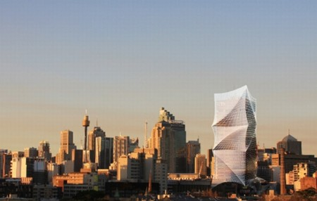 LAVA concept design for wrapped UTS tower