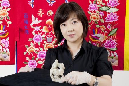 Portrait of curator Min-Jung Kim