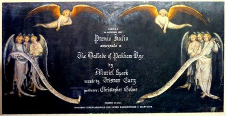 Premio Italia prize for Cary's music for the Ballade of Peckham Rye (1962)