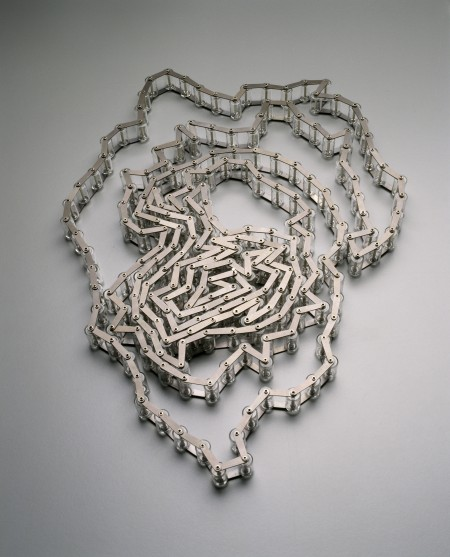 'Bicycle Chain' necklace Blanche Tilden